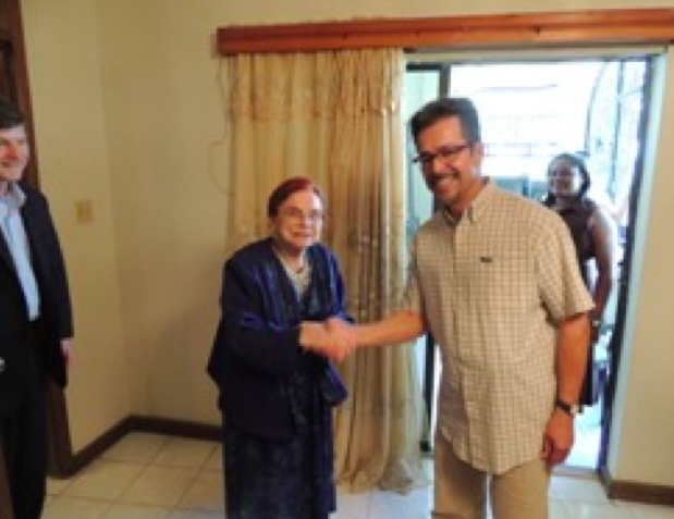 Dr. Verna Linzey and Pentecostal United Nations Chief of Northern Haiti